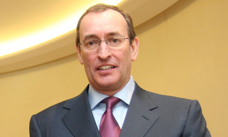 Frank Chapman, chief executive of BG Group