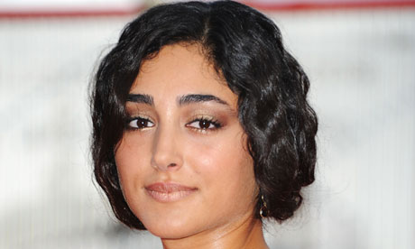 'I have scars from every film I have made' …Golshifteh Farahani at the Venice Film Festival.