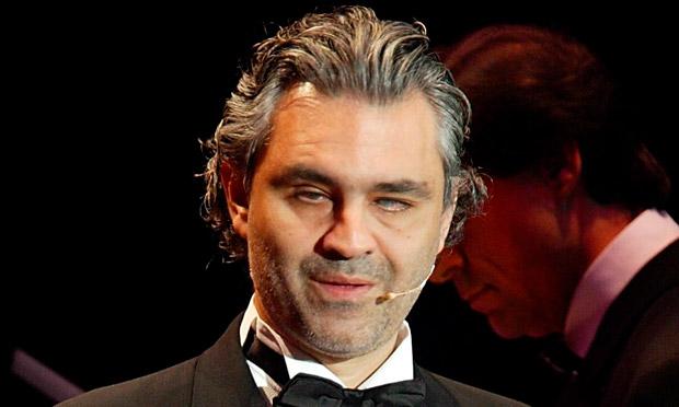Andrea Bocelli 2018 Haircut Beard Eyes Weight
