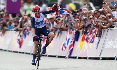 Another day, another gold medal for Sarah Storey, this time in the Women's Individual C4-5 Road Race.