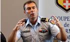 Gendarme Lt Col Benoit Vinneman in Annecy