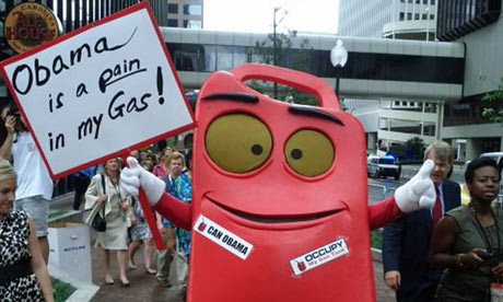 Obama gas can sign 001 Except Ireland doesn't recognize gay marriage, so what's a boy to do?