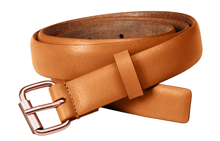 Fashion blogger Bip Ling: Brown leather belt