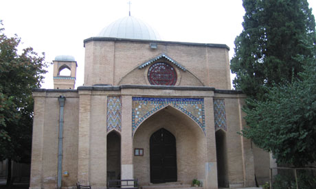 An Anglican Christian church in Shiraz, Iran