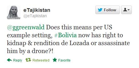 bolivia tweet