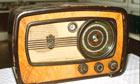 Old-fashioned radio