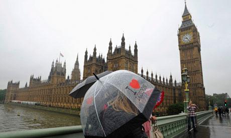 London England Rain