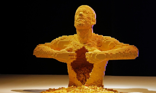 It's not just child's play: this sculpture made out of Lego at the ArtScience Museum in Singapore is part of 'The Art of Brick' exhibition by New York-based artist Nathan Sawaya featuring 52 large-scale Lego sculptures.