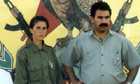 Sakine Cansiz with Abdullah Ocalan