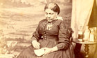 Victorian carte-de-visite photograph of Mary Seacole. Image shot 1860. Exact date unknown.