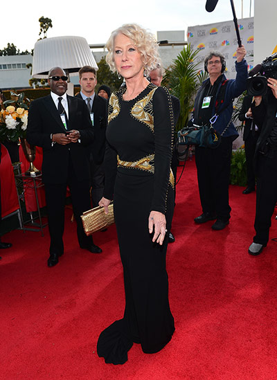 Red Carpet Globes: Helen Mirren