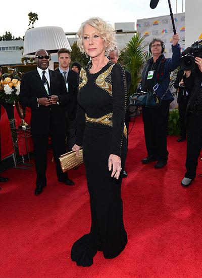 Red Carpet Globes: Helen Mirren