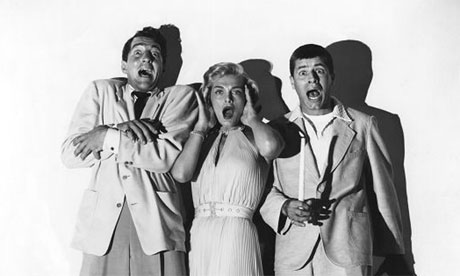 Dean Martin, L Scott and Jerry Lewis