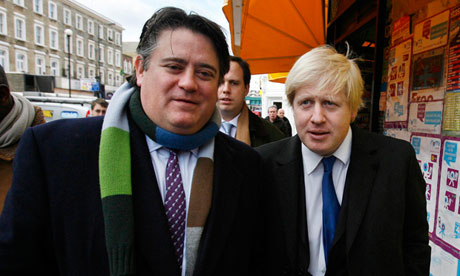 Stephen Greenhalgh and Boris Johnson