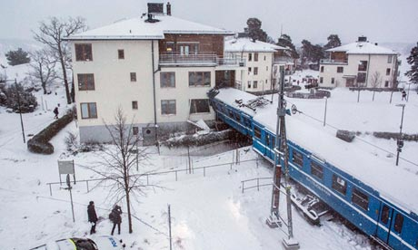 Stockholm train crash