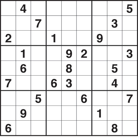 Sudoku Blank Grids Picture