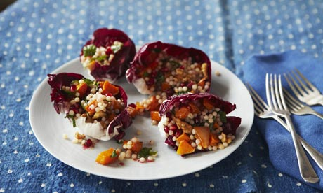 Butternut and cous cous salad