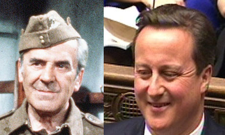 Seargeant Wilson and David Cameron