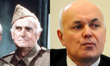 Private James Frazier and Iain Duncan Smith
