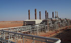 Amenas gas field Algeria