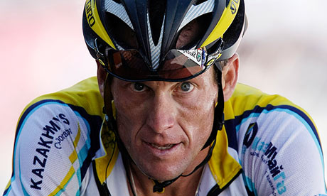 Lance Armstrong said in 2010: 'As long as I live, I will deny taking performance-enhancing drugs'