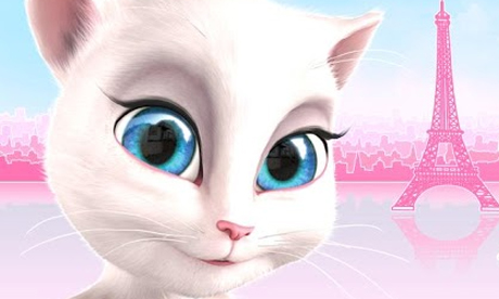 Talking Angela joins Talking Tom Cat and others on Android