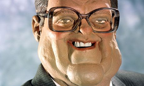 Kenneth Baker's Spitting Image puppet.