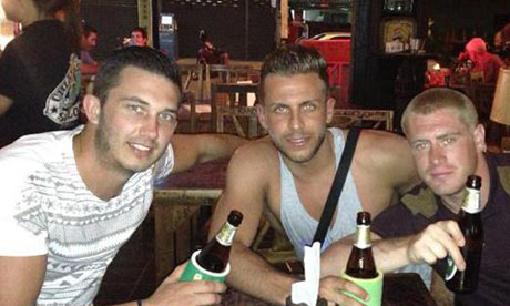 Thai man arrested over killing of British tourist at New Year's Eve party