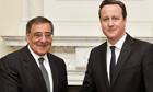 David Cameron and Leon Panetta