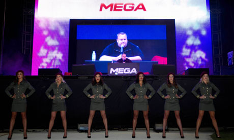 Kim Dotcom launches Mega