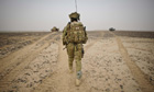 British soldier in Helmand