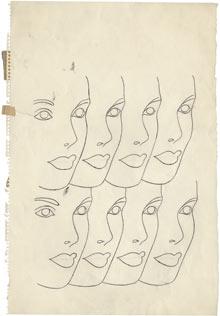 Andy Warhol drawing 2