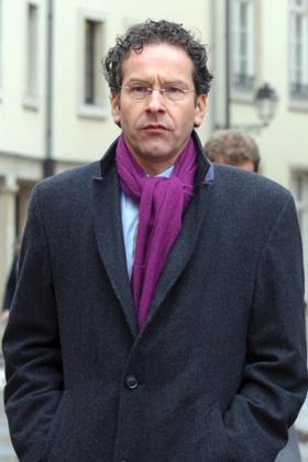 Netherlands' finance Minister Jeroen Dijsselbloem is described as a
