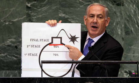 Benjamin Netanyahu at the UN