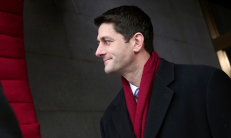 A wistful look from former Vice Presidential candidate Paul Ryan?