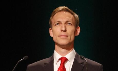 Jim Murphy, shadow defence secretary.