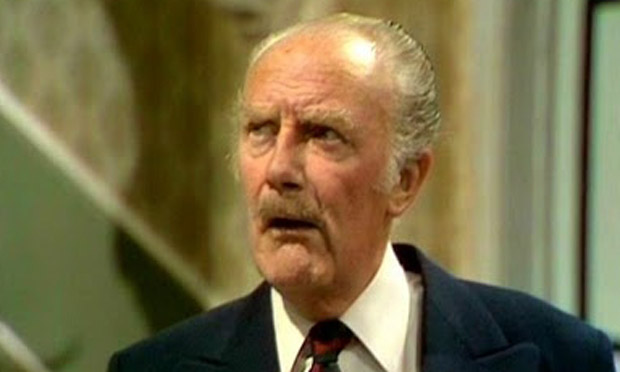 Major Gowen: Fawlty Towers's resident bigot. - Major-Gowen-Fawlty-Towers-011