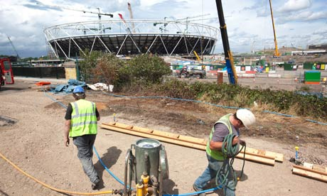 Stratford site for the London Games