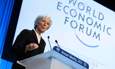 Christine Lagarde at the World Economic Forum