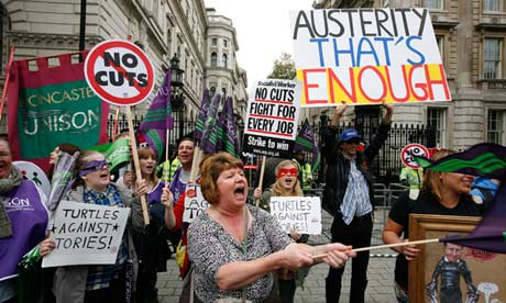 IMF advises UK to ease austerity measures   Business   theguardian.