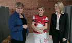 Launch of What's Your Goal? campaign, with Clare Balding, Kelly Smith and Jacqui Oatley