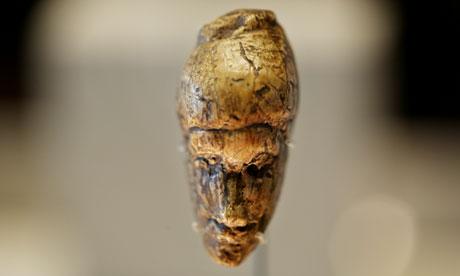 Ice Age arte: El retrato más antiguo conocido de una mujer