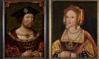Portraits of Henry VIII and Catherine of Aragon at the National Portrait Gallery