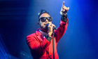 Miguel performs at La Gaite Lyrique in Paris
