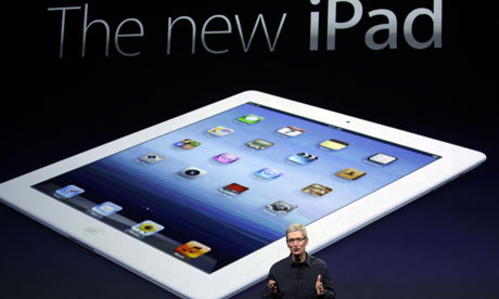 Tim Cook introduces the new iPad