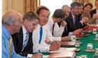 Uk Cabinet re-shuffle 2012