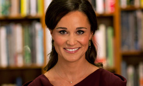 Pippa Middleton at her book launch in October 2012