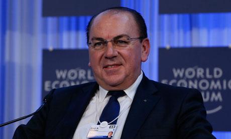 Chairman of UBS, Axel Weber
