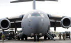 C-17 transport aircraft