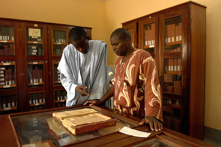 Ahmed Baba Institute: The Ahmed Baba centre holds the library of the Manuscripts of the Desert